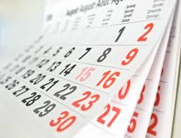 horaires club moving fin d'année 2015